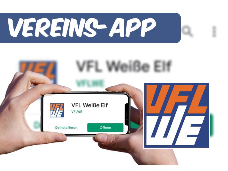 Neue Vereins-App ab sofort kostenlos erhältlich